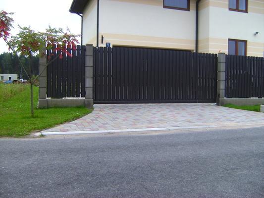 Заборы, стены, простые и автоматические ворота