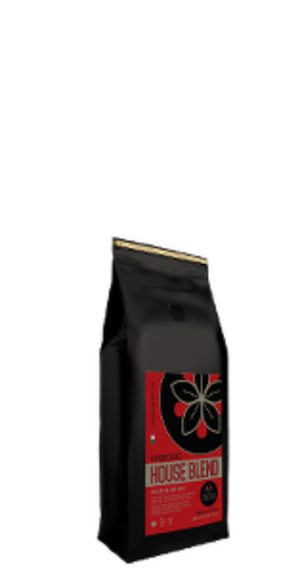 Ground coffee House Blend, 400g
