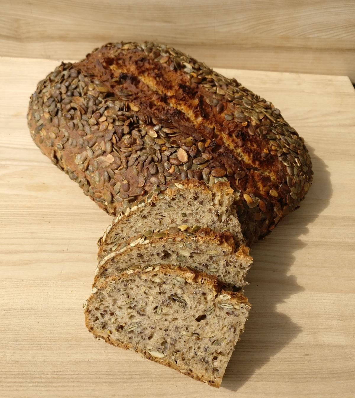Bio sēklu maize