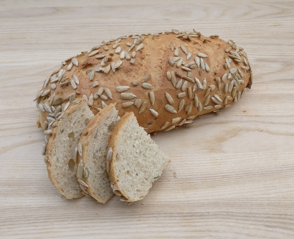 BIO Saulespuķu sēklu maize