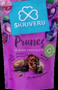 Сливы в темном шоколаде