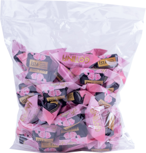 Конфеты Skrīveru коровка ROSE со вкусом шампанского