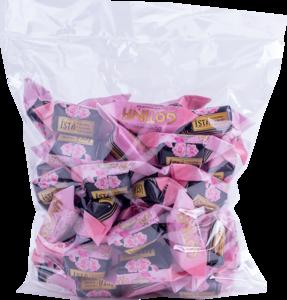 Soft Fudge Skrīveru ROSE with champagne flavour