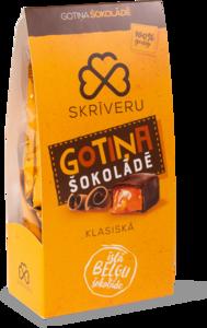 """""""Skriveru Gotina"""" klassikalised lehmakommid šokolaadis"""