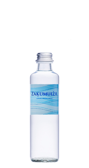 Natural mineral water, 0.25L glass bottle